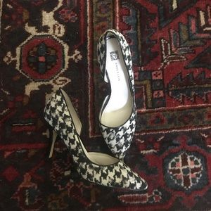 Black and White Ann Klein heels